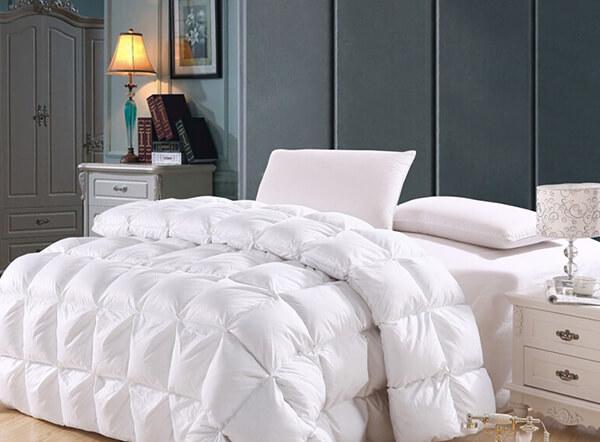 Luxury 90% goose down 5 star quilted hotel duvet inner