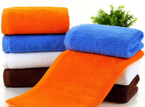 High quality 100% combed cotton 32S double loop spa towel