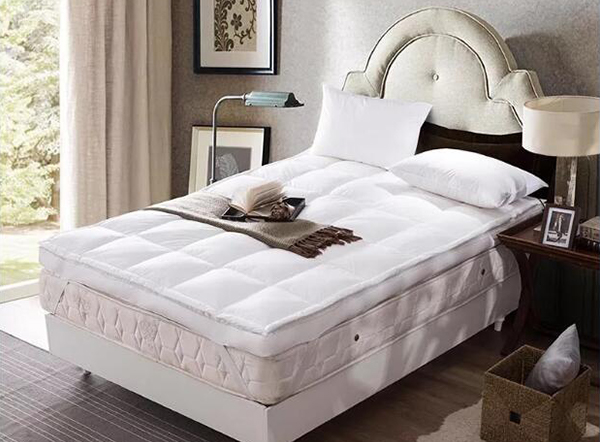 Luxury duck feather and down mattress topper available in all sizes