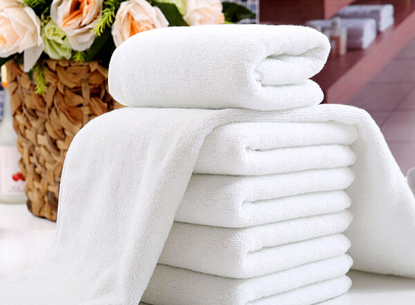 Water absorption cotton high cost effective white towels