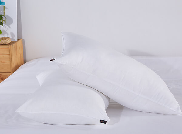 Luxury 100% pure white goose down 5 star hotel pillow